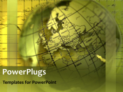 PowerPoint Template - Global data sharing network